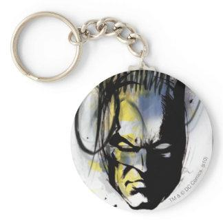 Batman Airbrush Portrait Key Chain