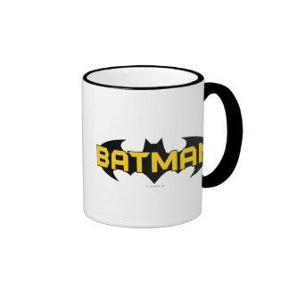 Batman Black and Yellow Logo Coffee Mugs Zazzle_mug