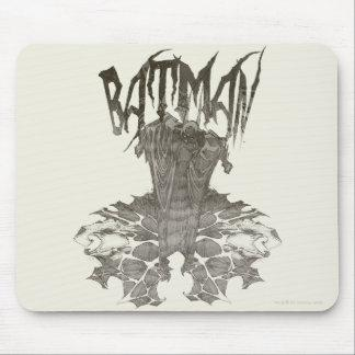 Batman Graphic Novel Pencil Sketch 2 Mousepads