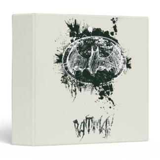 Batman Grunge Splatter Sketch Vinyl Binders Zazzle_binder