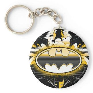 Batman Logo with Cars Key Chains