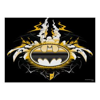 Batman Logo with Cars Posters Zazzle_print