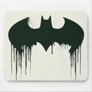 Batman Symbol | Spraypaint Logo Mouse Pad Zazzle_mousepad