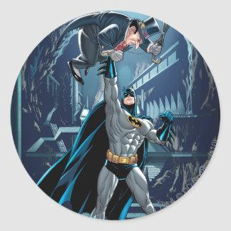 Batman vs. Penguin Classic Round Sticker