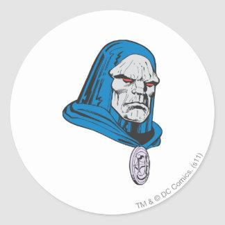 Darkseid Head Shot Sticker