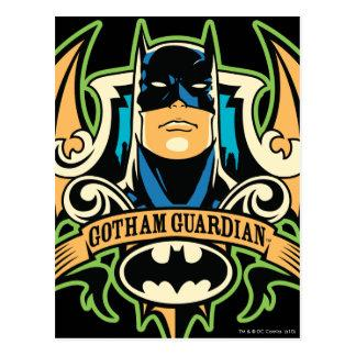 Gotham Guardian Postcard Zazzle_postcard