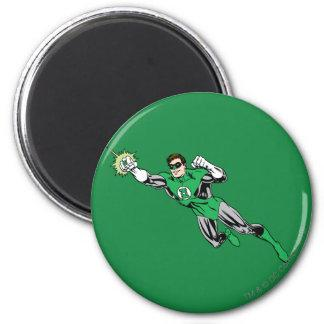 Green Lantern Fly Left 2 Magnets Zazzle_magnet