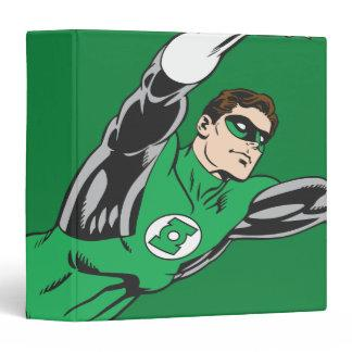 Green Lantern Fly Right Binder Zazzle_binder