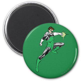 Green Lantern Pointing Ring 2 Inch Round Magnet Zazzle_magnet