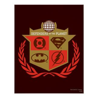 Justice League Defenders of the Planet Poster