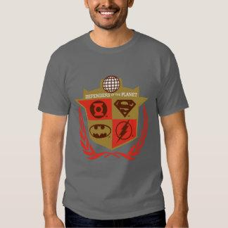 Justice League Defenders of the Planet T-shirt
