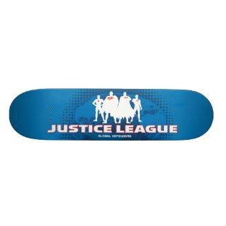Justice League Global Defenders Skate Decks Zazzle_skateboard