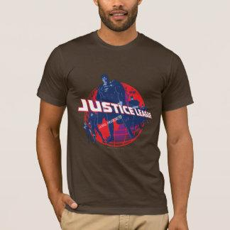 Justice League Global Heroes  and Globe T-Shirt Zazzle_shirt