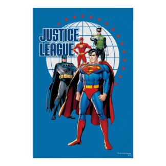 Justice League Global Heroes Poster