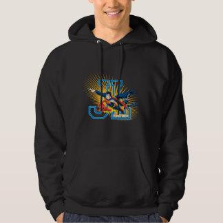 Justice League Heroes United Hooded Sweatshirt Zazzle_shirt