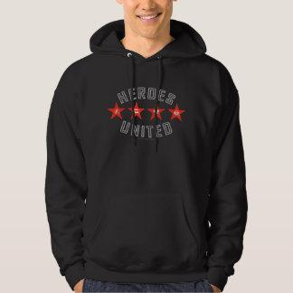 Justice League Heroes Untied Logos Pullover Zazzle_shirt