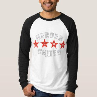 Justice League Heroes Untied Logos T-shirt Zazzle_shirt