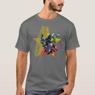 Justice League Star Heroes T-Shirt Zazzle_shirt