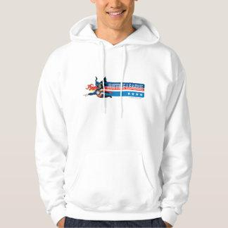 Justice League Stars and Stripes Hoodie Zazzle_shirt