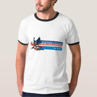 Justice League Stars and Stripes T-Shirt Zazzle_shirt