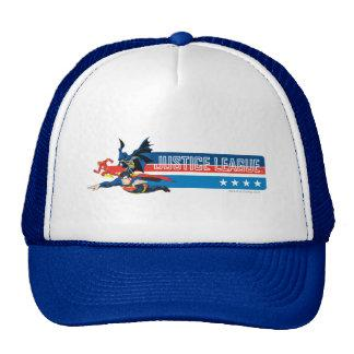 Justice League Stars and Stripes Trucker Hat Zazzle_hat