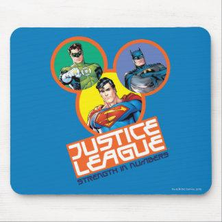"""Justice League """"Strength in Numbers"""" Mouse Pad Zazzle_mousepad"""