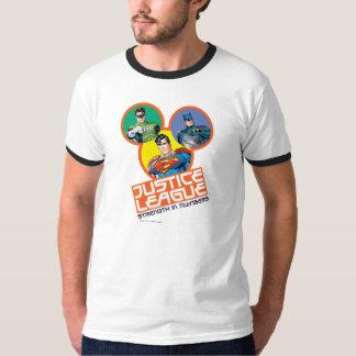 """Justice League """"Strength in Numbers"""" T Shirt Zazzle_shirt"""