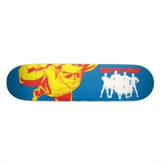 Justice League Strength. Power. Courage. Character Skate Boards Zazzle_skateboard