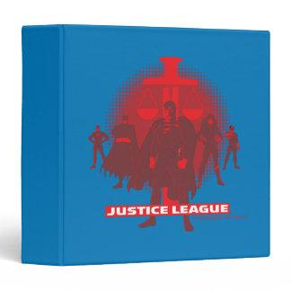 Justice League Sword and Scale Binder Zazzle_binder