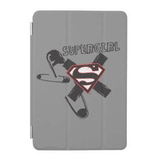 Supergirl Black Safety Pins iPad Mini Cover