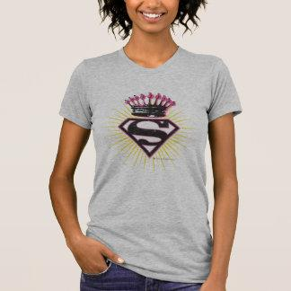 Supergirl Logo with Crown T-shirt Zazzle_shirt