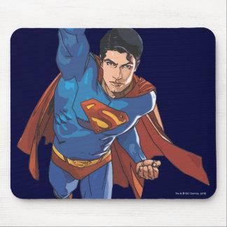 Superman Flying Forward Mouse Pads Zazzle_mousepad