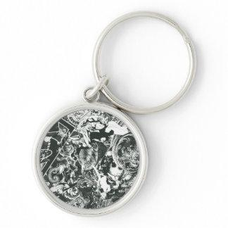 Superman Gray Collage Key Chains