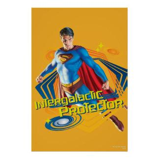 Superman Intergalactic Protector Print Zazzle_print