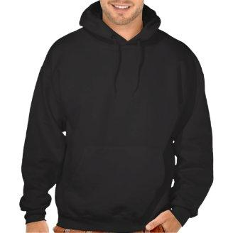 Superman Leaps From the Street Hooded Sweatshirt