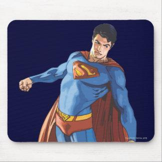 Superman Looking Down Mouse Pad Zazzle_mousepad