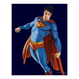Superman Looking Down Poster Zazzle_print