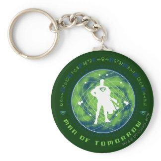 Superman Man of Tomorrow Keychains Zazzle_keychain