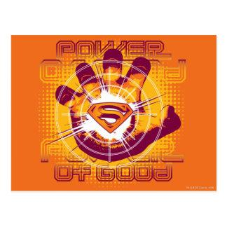 Superman Power of Good Postcard