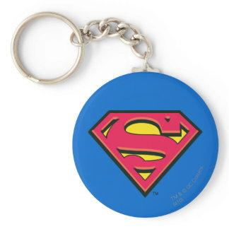 Superman S-Shield | Classic Logo Keychain Zazzle_keychain