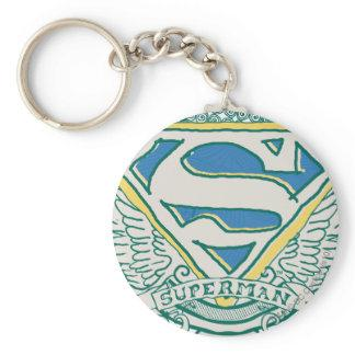 Superman Sketched Crest Key Chains