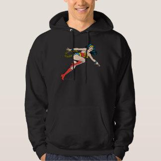 Wonder Woman Leap Right Hoody Zazzle_shirt
