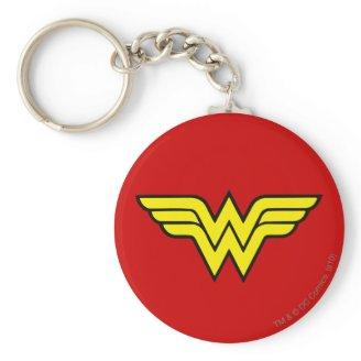 Wonder Woman Logo Keychain Zazzle_keychain