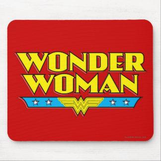 Wonder Woman Name and Logo Mouse Pad Zazzle_mousepad