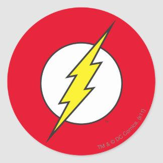 The Flash Lightning Bolt Classic Round Sticker